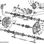 mechanizm różnicowy m32